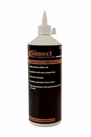 Connect 35331 Air Tool Oil ISO 22 1 Litre Bottle Pk of 1